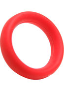 Tantus Beginner Cock Ring Silicone Waterproof Red