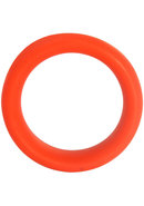 Intermediate Silicone Cock Ring Red