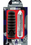 Buddies Scud Bullet With Sleeve Waterproof Black