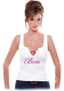Bachelorette Party Favors Bride Shot Glass Tank Top Diva