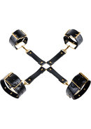 Fetish Fantasy Gold Hogtie Kit Black/gold