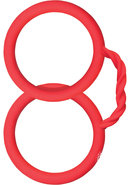 Surenda Silicone Cuffs Red