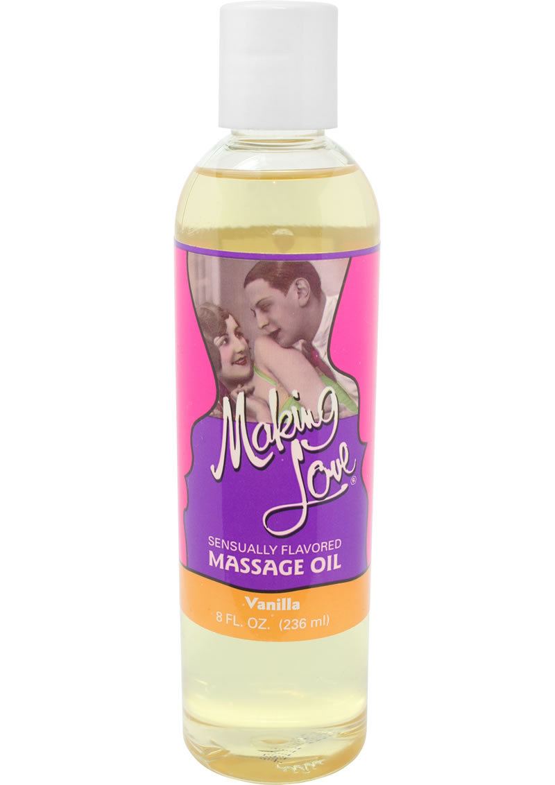 Making Love Massage Oil Vanilla 8 Ounce