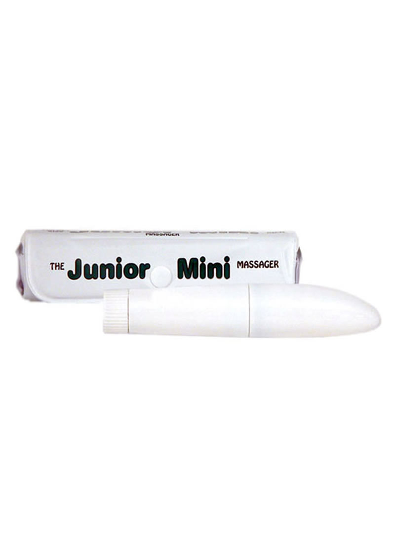 Junior Mini Massager 5 Inch White