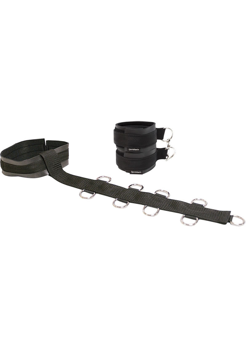 Neck And Wrist Restraint Black