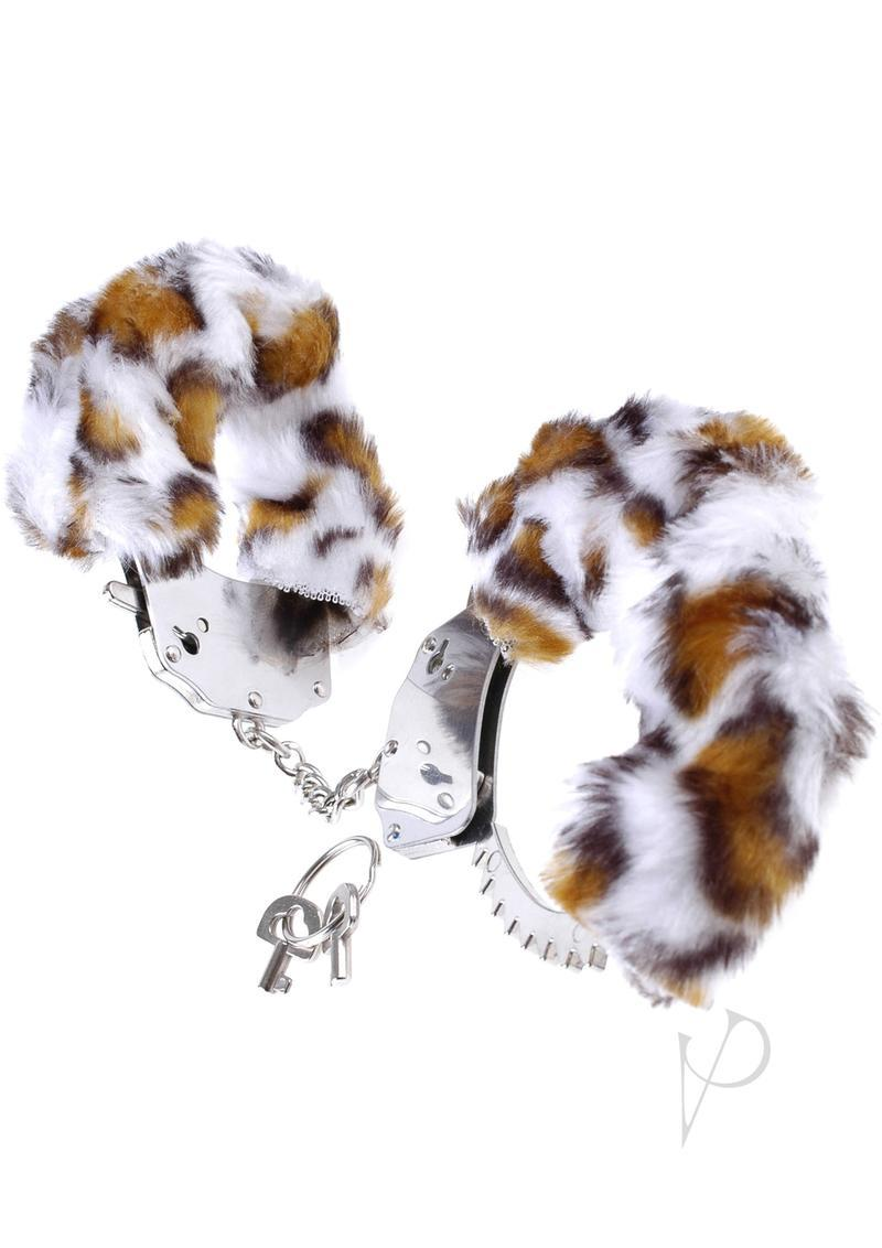 Fetish Fantasy Series Furry Cuffs Leopard