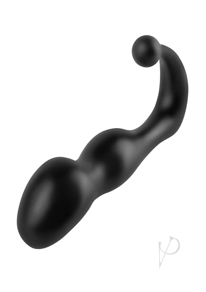 Anal Fantasy Collection Deluxe Perfect Silicone Plug Black 5.25 Inch