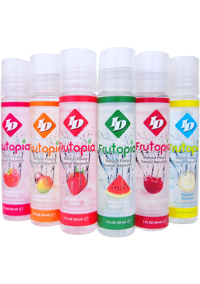 Frutopia Natural Flavor Water Based Personal Lubricant 1 Ounce Bottle