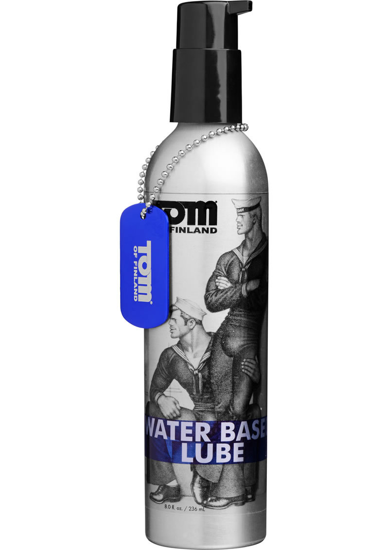 Tom Of Finland Water Based Lube 8 Ounce