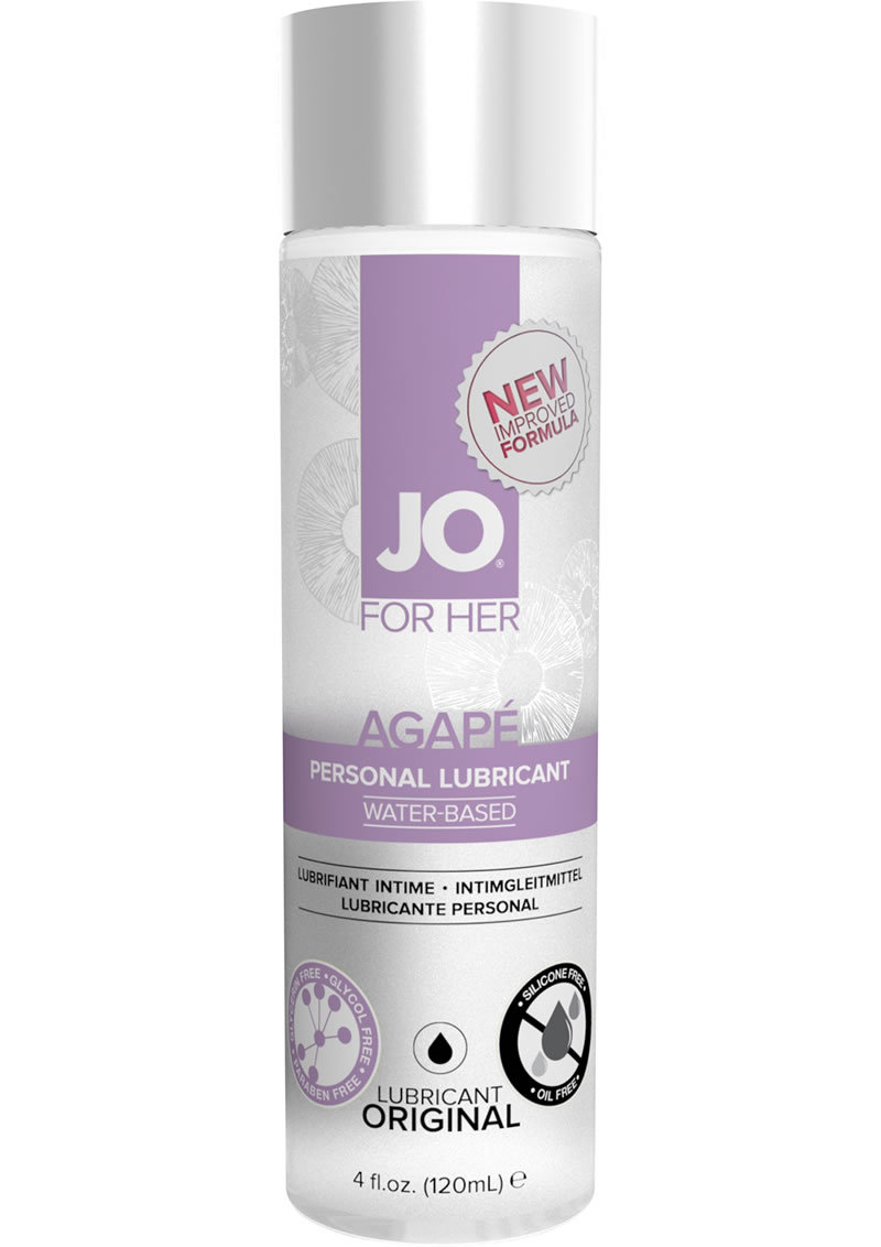 Jo Agape Lube Original 4 Oz